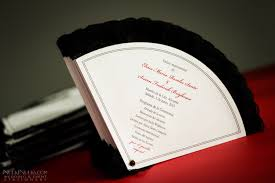 Fan Style Wedding Programs A U0027must See U0027 Gallery Wedding And Event Stationery Designed By