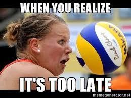 Volleyball Meme - troll volleyball home facebook