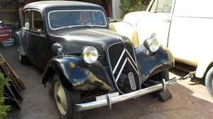 1953 citroen traction avant solid and ready