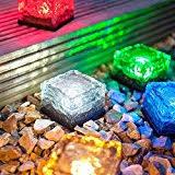amazon com glass path lights landscape lighting tools u0026 home