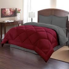 Orange Comforter Bedding Attractive Maroon Bedding 8 Piece Lux Burnt Orange