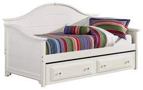 vaughan bassett cottage day bed with storage trundle unit snow