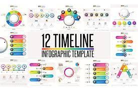 12 timeline u0026 infographic template 3 presentation templates