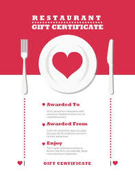 discount restaurant gift cards 13 free printable gift certificate templates birthday christmas