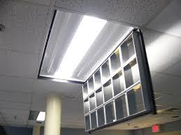 2 X 4 Ceiling Light Covers Fluorescent Lights Innovative Parabolic Fluorescent Light