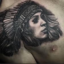 cute indian tattoo by chris primm best tattoo ideas gallery