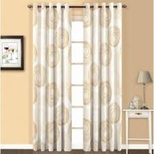 White And Gold Curtains Curtain Skipper White And Gold Geometric Eyelet Curtain Online