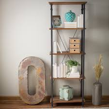 weston home factory bookcase hayneedle