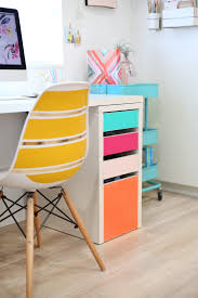my desk has no drawers no paint colorful drawers