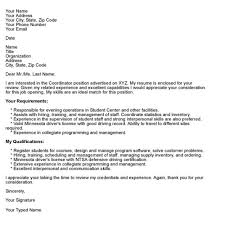 cover letter email example samples csat co