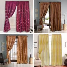 French Pleat Curtain Cozzi French Pleated Curtain 2 Layer Fit Window Sliding Door
