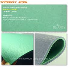 indoor badminton court pvc sheet vinyl flooring topjoyflooring