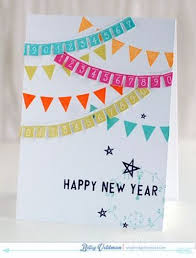 happy new year paper cards paper bunting and number garland 2015 happy new year countdown