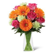 gerbera bouquet orange bouquet at send flowers
