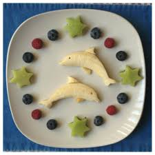 banana dolphins paleo kids creative meal art ideas thanks to