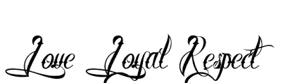 love and loyalty respect tattoo like success