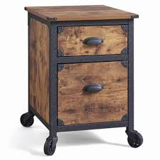 furniture three drawer locking file cabinet wooden filing