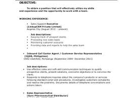 Resume Of Call Center Agent Customer Service Agent Resume Manager Billybullock Us