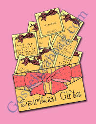 spiritual gifts lds lesson activity using my spiritual gifts
