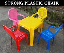 kids plastic table and chairs childrens plastic table ebay