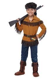 kids davy crockett costume boys halloween costumes pinterest