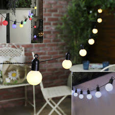 outdoor cing lights string corded mains garden string lights ebay