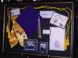 graduation memory box shadowbox designs artistic framing by jr s originals