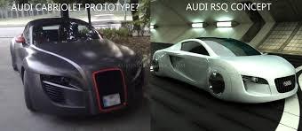 audi rsq concept car new audi cabriolet prototype spy shots automotorblog