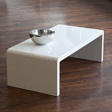 Rounded Edge Coffee Table - white coffee table not sure if this would be client approved