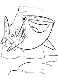 finding dory coloring pages kids 1