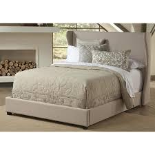 pulaski furniture all in 1 cream king upholstered bed 1882 br k2