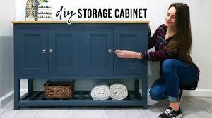 how to make storage cabinets diy storage cabinet diy huntress