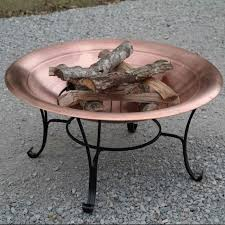 Fire Pit Liner by Fire Pits Uk Deck Fire Pit Fire Pit Propane The Strong Copper