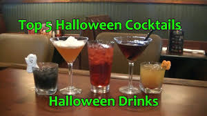 halloween drinks top 5 halloween cocktails halloween drinks youtube