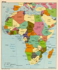 Map If Africa by Of Africa With Countries And Capitals