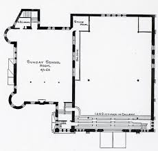 Gothic Church Floor Plan by Art And Church 1900
