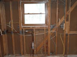 rough electric rough plumbing and drywall remodeling in real time