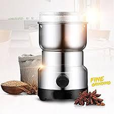 moulin graines de cuisine skymore moulin à café électrique épices avec lames en acier