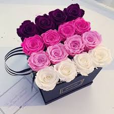 flowers in a box flower boxes for bouquets mfleursmtl high quality roses in a