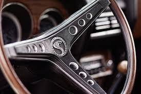 mustang cobra steering wheel 1969 ford mustang shelby cobra gt500 steering wheel photograph by