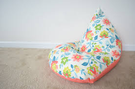 how to make kids bean bag chair sew handimania