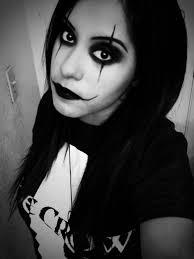 eric draven the crow makeup tutorial