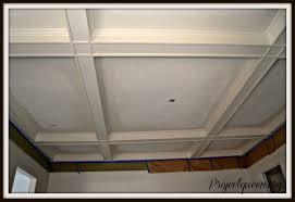 glazed box beamed ceiling