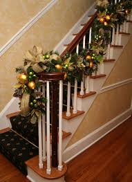 Christmas Lights For Stair Banisters Decorating Captivating Christmas Hallway Decor Ideas Kropyok