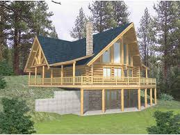 Sloping Lot House Plans Sloped Lot House Plans Walkout Basement Home Design
