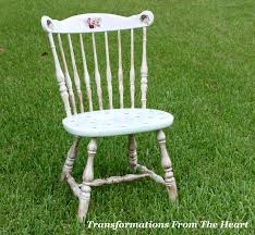 transformations from the heart diy chair shabby chic style