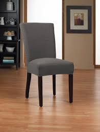 sure fit parsons chair slipcovers chair beautiful sure fit gray linen dining chair covers with