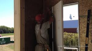 Exterior Door Install How To Install An Exterior Door