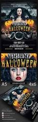the black halloween psd flyer template by dennybusyet graphicriver