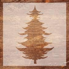 vinyl stencil wood sign stencil christmas stencil pallet